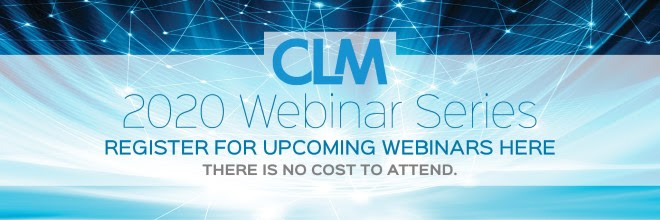 CLM 2020 Webinars